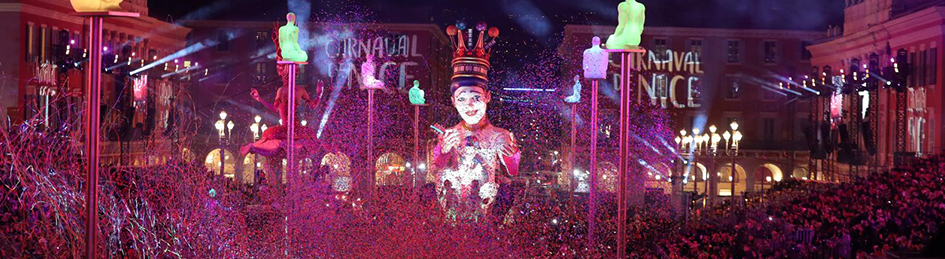 Carnaval de Nice Parade of Lights